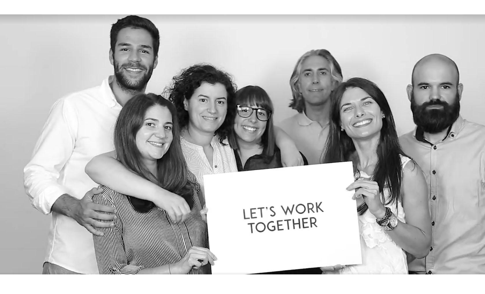 This is our Creative Team - Juntos somos muito Mais!