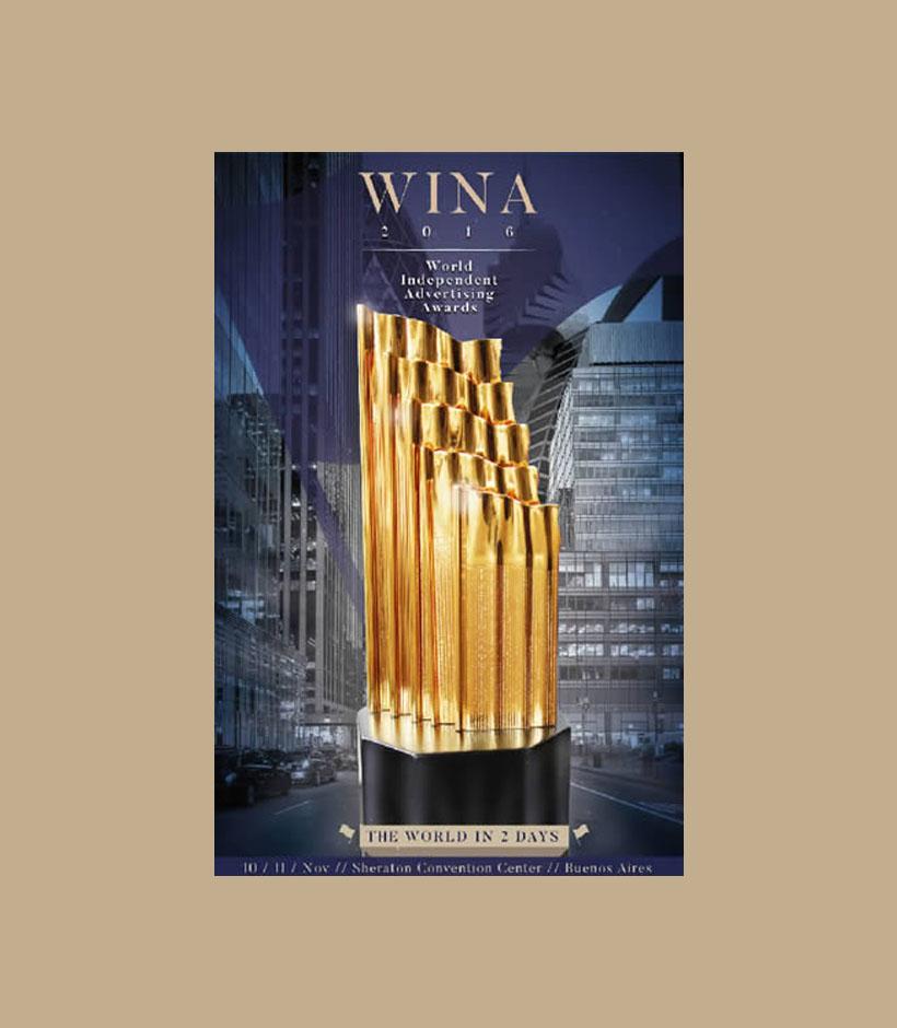 M&A Creative Agency conquista Prata e Bronze no concurso internacional WINA Festival
