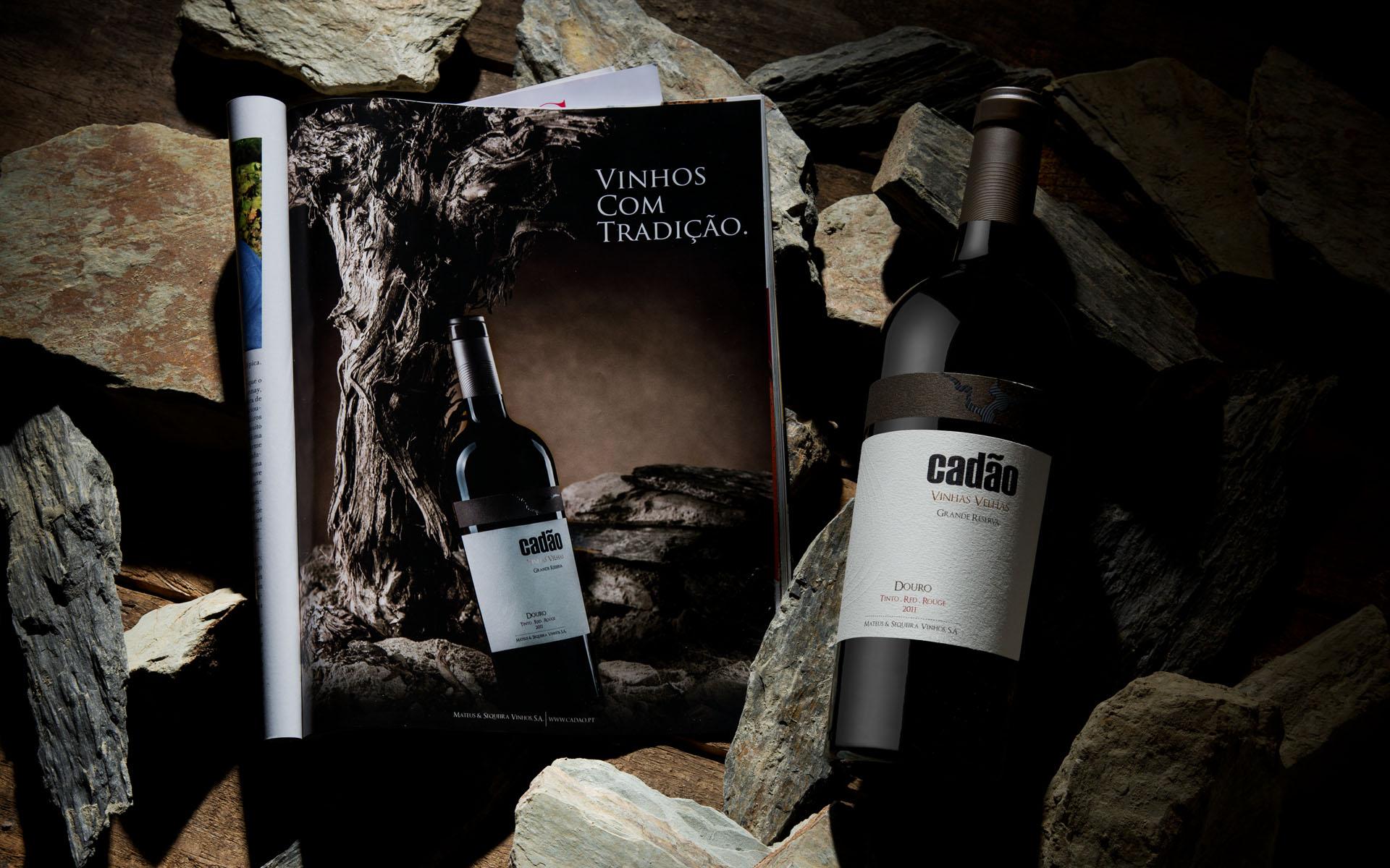 <p>A singularidade do terroir onde nascem os vinhos Cadão cria o cenário ideal</p>