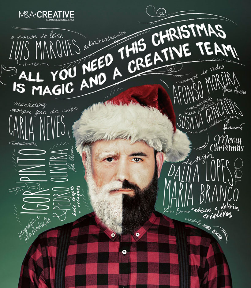 All you need this Christmas is a creative team!
