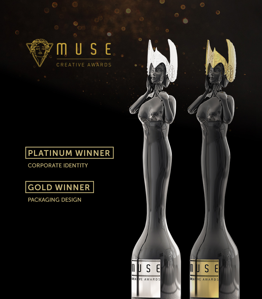 Platinum and Gold for M&A Creative Agency at Muse Awards