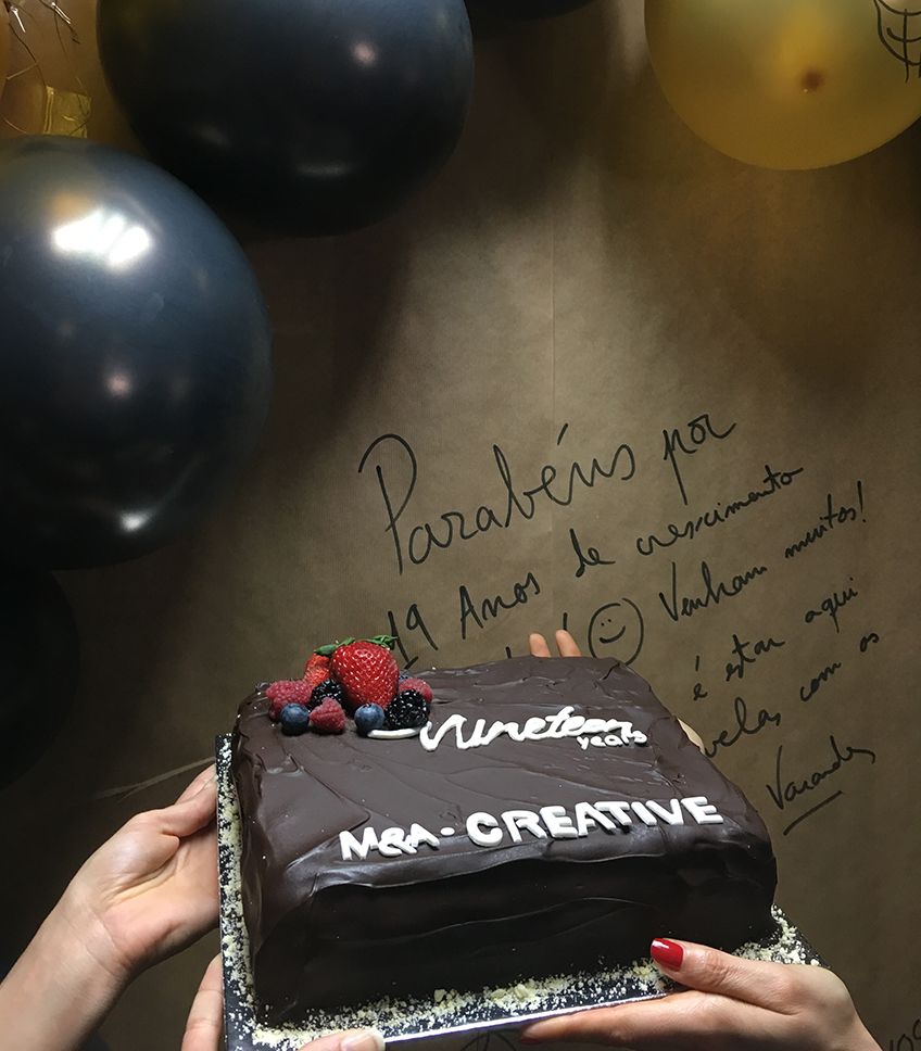 M&A Creative Agency desde 1998 a inspirar criatividade